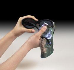 Egyedi mikroszálas szemüveg törlőkendők